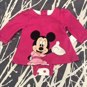 Disney's Minnie Mouse Baby Girl Onesie